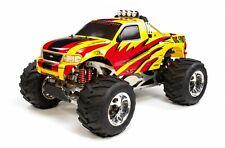 FG Karosserie Monster-Truck, gelb, für 2WD/4WD - 20110/01 - body yellow, Karosse