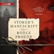 Stoker's Manuscript by Royce Prouty (2013, CD)