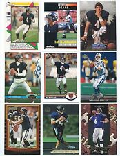 Lot of 27 Different Jim Harbaugh Cards 1990-1999; NM-Mint; Bears, Colts, Ravens