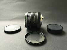 Auto MAKINON lens 2.8 28mm with front & rear caps KONICA fit
