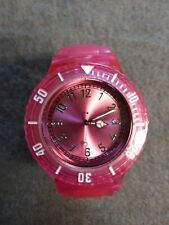 Pink Jelly Watch