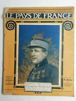 N86 Le Pays De France 3e Année N°109 / 16 novembre 1916 L'aviateur Nungesser