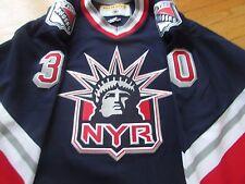 VINTAGE 2002 NHL HOCKEY JERSEY MIKE DUNHAM RANGERS LIBERTY CCM XXL AUTHENTIC
