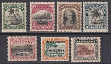 Aitutaki 1920-35  collection of 7 mint hinged