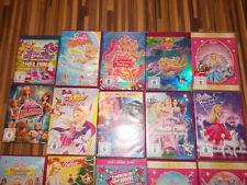 * Barbie * 15 DVD's * tolle Sammlung * Titel siehe Fotos *