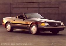 Continental-size 1981 MERCEDES-BENZ COUPE / ROADSTERS the 300SL & V-8 500SL