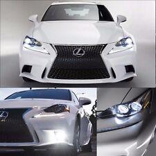 6000K Headlight Fog Light LED Upgrade Kit for 14 15 16 Lexus IS250 IS350 IS200t