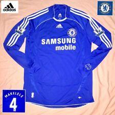 Chelsea Football Shirt MAKELÉLÉ ( M ) Vintage Genuine Adidas Long Sleeves Jersey