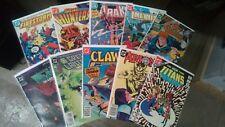 DC Comic Book lot(1980s) Batman Teen Titans Firestorm Arak!