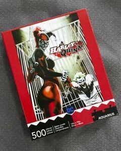 Aquarius DC Harley Quinn & The Joker Jigsaw Puzzle 500 Piece Batman Cool Comic