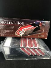 Excalibur Professional 4 Deck Dealer Shoe . New Mib Casino Card Games 10B