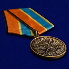 "Russian AWARD ORDER military BADGE pin insignia - ""100 years of Air force"""