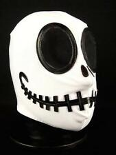 Skeleton Wrestling Mask Spandex Lucha Libre Jack Halloween Fancy Dress Costume