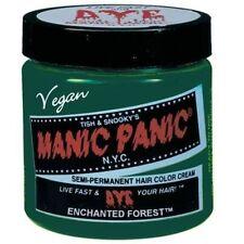 Cream Green Hair Colouring