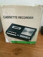 VINTAGE BOOTS CR300 CASSETTE PLAYER / RECORDER DATES FROM 1976