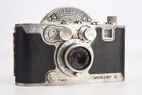 Univex Mercury II Model CX 35mm Film Half Frame Camera PLEASE READ V10