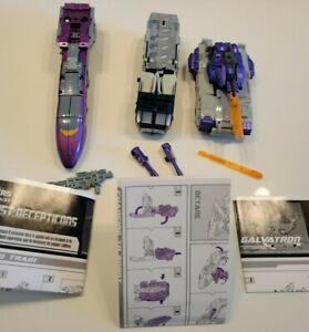 Hasbro Transformers Specialist:Decepticons-Galvatron Octane Astrotrain set