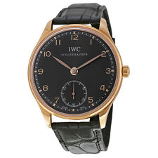 Genuine Leather Strap Adult IWC Wristwatches
