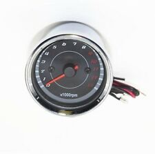 Motorcycle Dirt Street Bike EFI Tachometer Speedometer Gauge LED Light 13000 RPM