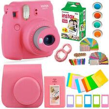 FujiFilm Instax Mini 9 Instant Ca 00006000 mera + 20 Fuji Film + Huge Bundle/Kit! Gr8 Gift