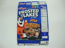 2005 Frosted Flakes Kevin Garnett, Tony Hawk, Mia Hamm Cereal Box with Poster