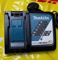Makita 3 Pin UK Plug England 220V-240V DC18RC 14.4V-18V Li-ion Fast Charger NEW