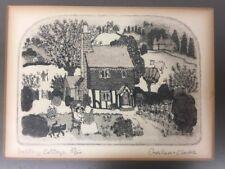 "Signed Graham Clarke ""Valley Cottage"" Print #39/100 (po25)"
