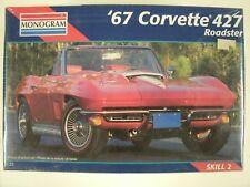 Sealed Monogram 67 Corvette 427 Roadster 1:25 Scale Model Car Kit #2968