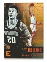 2017-18 Panini Essentials John Collins RC #21, Hawks Star Rookie!