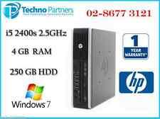 HP Elite 8200 USFF Computer 2nd GEN i5 2400s 2.5G 4G 250G Win 7 Pro 1Yr Warranty