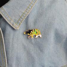 Lovely Bear Shape Enamel Brooch Denim Jacket Collar Pin Badge Fashion Jewelry
