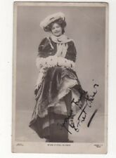 Actress Ethel Oliver 1906 RPPC Postcard Autographed US100