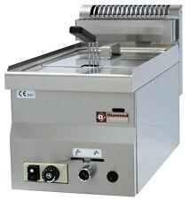 Modular Gas Friteuse Fritteuse 1 Becken 8 Liter 6,79 kW 300x600x280mm Gastlando