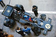 RONNIE PETERSON JPS Lotus 76 belga GRAND PRIX 1974 FOTO 2