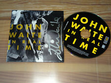 JOHN WAITE - IN REAL TIME / ALBUM-CD 2010 (IM CARDSLEAVE) SIGNET