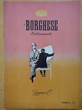 1954-IL BORGHESE-Direttore LEO LONGANESI-Anno V, Numero 14