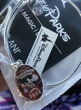 New Disney Run Disney WDW Marathon Weekend 2018 Alex and Ani Bracelet Silver