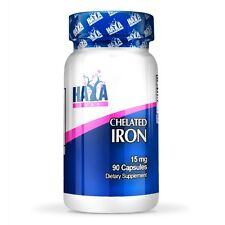 VITAMINA HAYA Labs Chelated Iron 15 mg 90 vegetarian capsule carenza di ferro