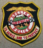 AL Opelika Alabama Police Patch