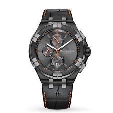 Maurice Lacroix AI1018-PVB01-334-1 Men's Aikon Black Quartz Watch