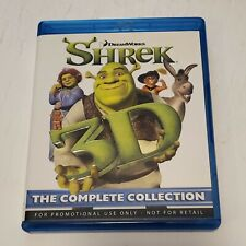 Shrek 3D: The Complete Collection (3D Blu-Ray, Movies 1-4), Very Good Condition