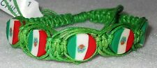 SLG Mexico Beautiful Handmade Adjustable Hemp/Rope Bracelet 3 Colors (1 Piece)