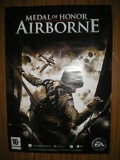 MEDAL OF HONOR AIRBORNE PS3 XBOX ORIGINAL 2007 POSTER