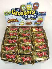 (30)The Grossery Gang YUCK BARS series 2 FULL CASE Blind bag Mystery bar NEW!!