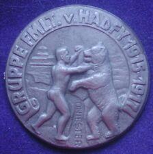 AUSTRIA KAPPENABZEICHEN W.W.I GRUPPE FMLT v. HADFY 1915/1917 DNIESTER GALIZIA #8