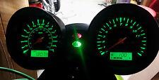 GREEN SUZUKI BANDIT 1200 mk2 led dash clock conversion kit lightenUPgrade