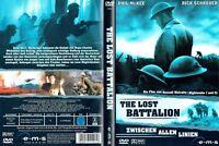 (DVD) The Lost Battalion - Zwischen allen Linien - Rick Schroder, Phil McKee