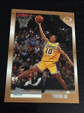 1998-99 Topps TYRONN LUE RC card #166 ~ Los Angeles Lakers Rookie ~ F1