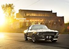 Mustang Shelby GT500 Car Photo Poster Print ONLY Wall Art A4