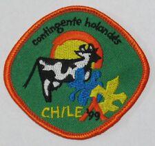 World Jamboree 1999 (Chile) Holland Contingent Pocket Patch